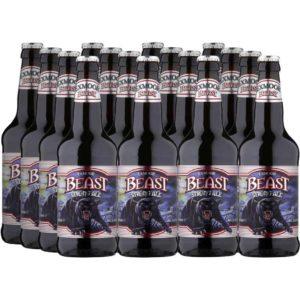16 bottles of Exmoor Beast
