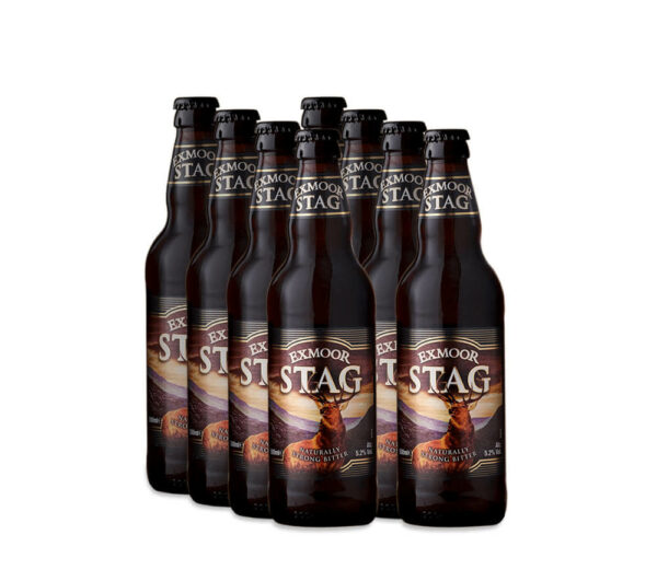 8 bottles of Stag Ale