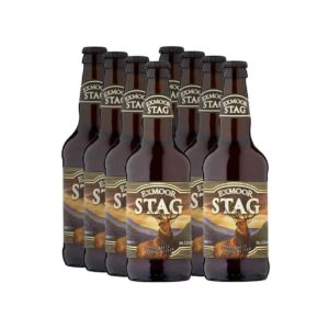 8 bottles of Exmoor Stag ale