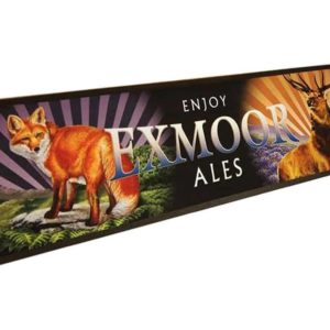 Exmoor Ales Bar Runner featuring the Fox and Stag