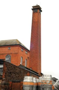 Victorian built chimney on Golden Hill