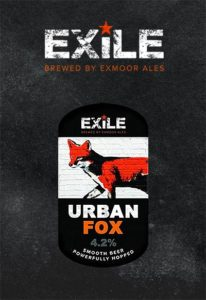 Exile brand logo and Urban Fox clip