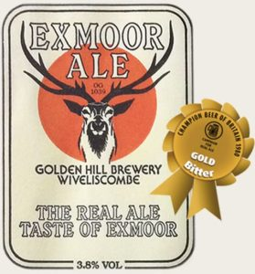 Exmoor Ales Label and award