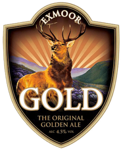 Pump Clip for Exmoor Gold Ale