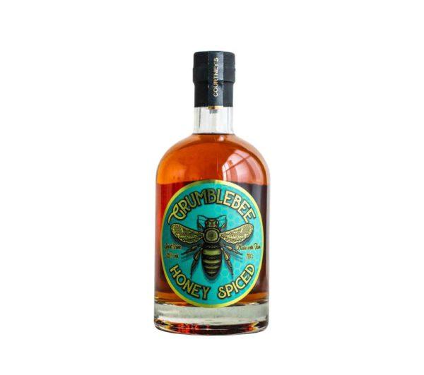Bottle of Grumblebee rum