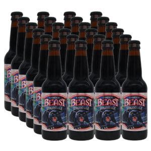 24 bottles of Exmoor Beast Ale