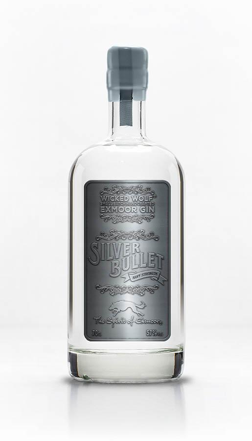 Bottle of Silver Bullet gin