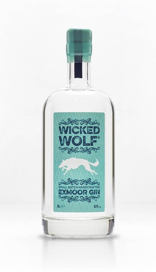 Bottle of Wicked Wolf Gin