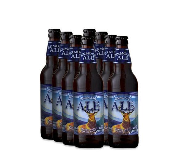 8 bottles of Exmoor Ale