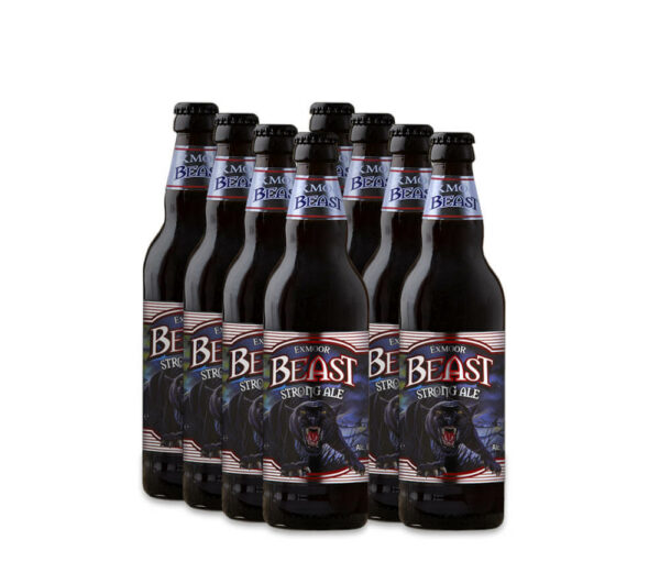 8 Bottles of Exmoor Beast ale