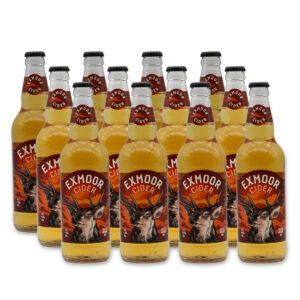 12 bottles of Exmoor Cider
