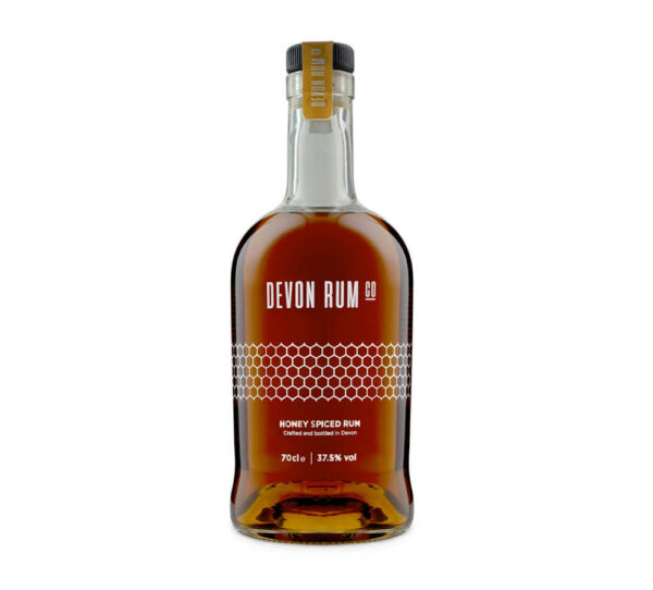 70cl bottle of Honey Spiced Rum by Devon Rum Co